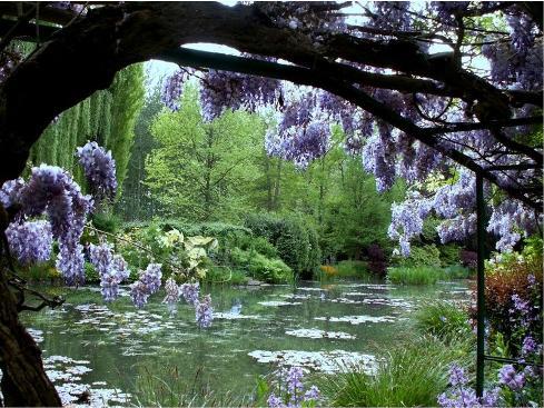 Demeures d 39 artistes les jardins de giverny chez claude for Jardin giverny