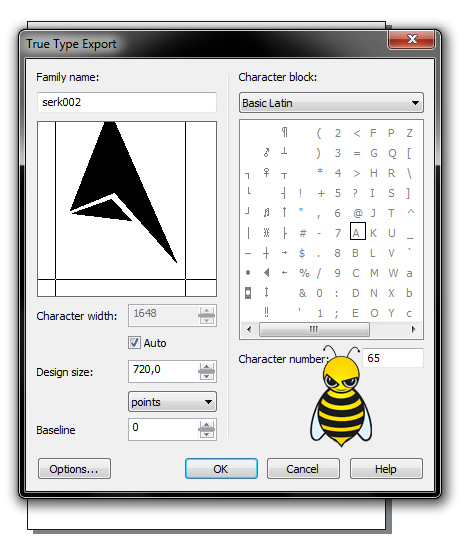 CorelDraw'da Font Yapımı