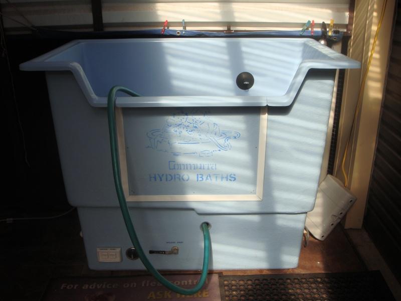 conmurra twin tank hydrobath sold