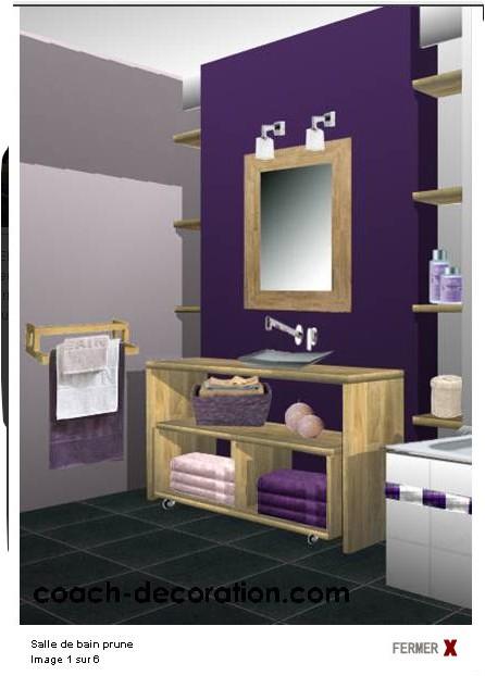 Une pi ce de plus notre salle de bains page 2 for Salle de bain prune