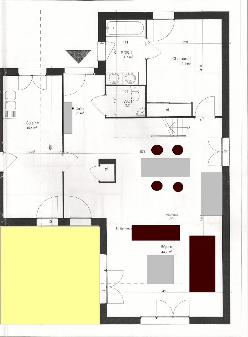 Faby et une pi ce de plus salon salle manger for Disposition des meubles dans un salon