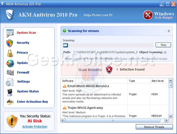 AKM Antivirus 2010 Pro