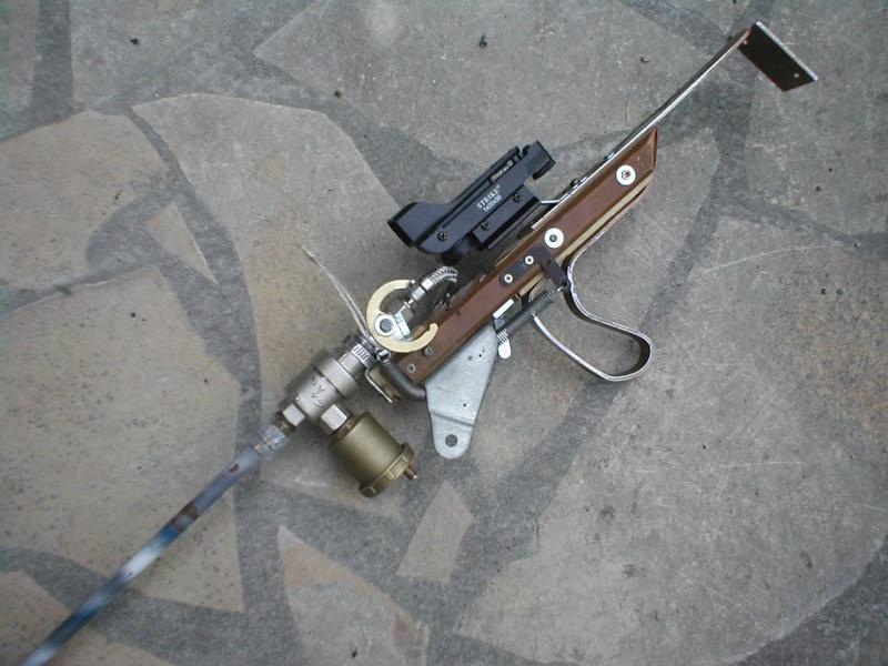 Steampunk voir le sujet r alisation fusil de - Comment monter une chambre a air de velo ...