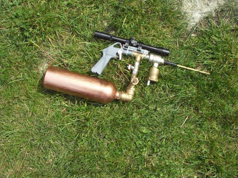 my airgun : Pneumatic Cannon Database M16 Airsoft Gun