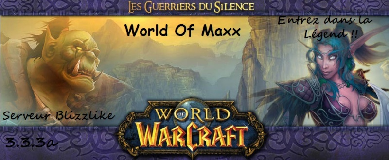 image du serveur World-Of-Maxx(3.3.2.11403)