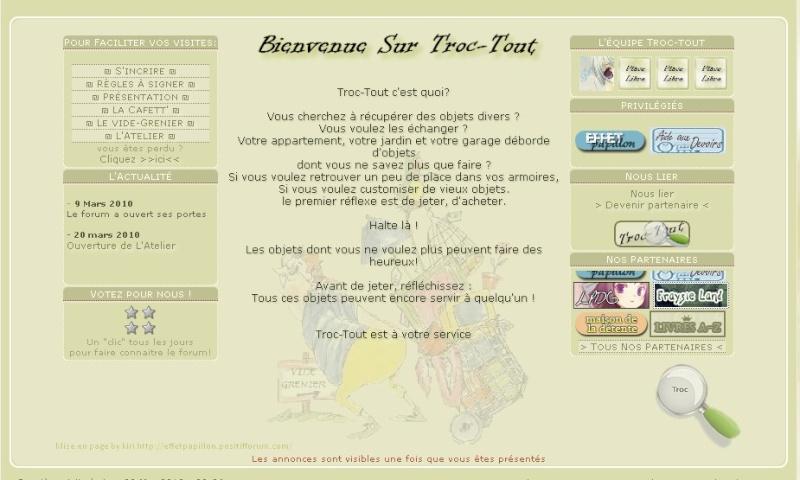 Publicité pour ton site et échange de bannières