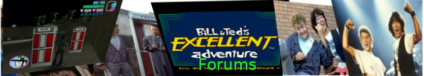 Bill & Ted Mod forums