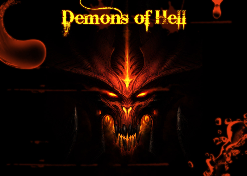 Real demons from hell images for Domon pictures