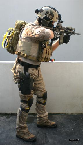 Navy Special Warfare Seal Loadout