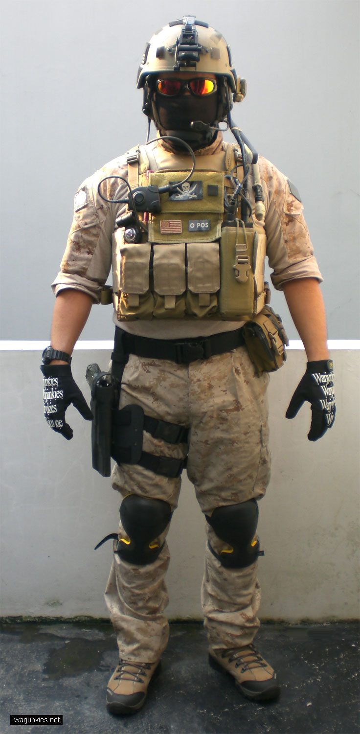 Navy Special Warfare / SEAL loadout