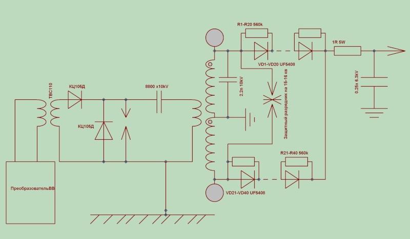 разрядниками..частоту