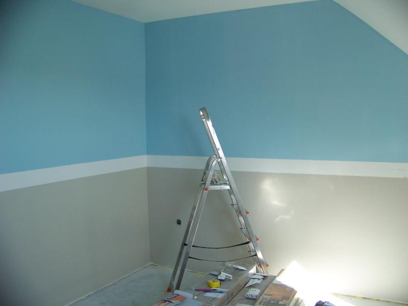 Et maintenant la chambre de b b - 2 couleurs dans une chambre ...