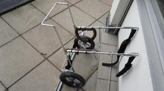 chariot pour chien handicap des pattes arri res. Black Bedroom Furniture Sets. Home Design Ideas