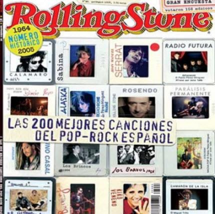 VA - Las 200 Mejores Canciones Del Pop-Rock Espanol (Rev. Rolling Stone) (2010)