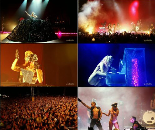 Lady Gaga - (Live V Festival Part 2) (2009)