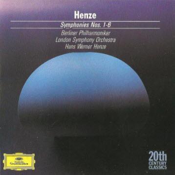 Hans Werner Henze - Symphonies Nos.1-6 (conductor Henze)