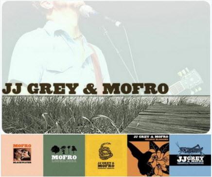 JJ Grey & Mofro - Discography (2001-2010)