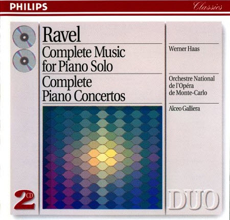 Maurice Ravel - Complete Music for Piano Solo, Complete Piano Concertos (1993)