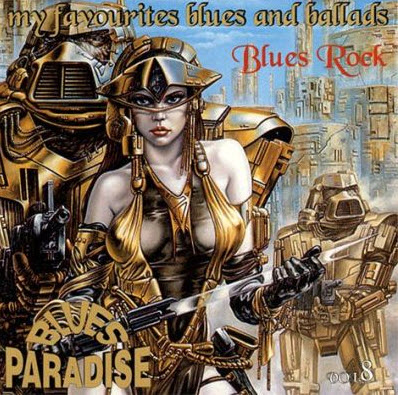 VA - BLUES PARADISE My Favourites Blues Rock Vol.8 (2002)
