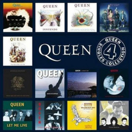 Queen - Singles Collection Vol 4 (2010)