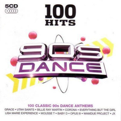 VA - 100 Hits 90s Dance: 100 Classic 90s Dance Anthems (2010) (320kbps)