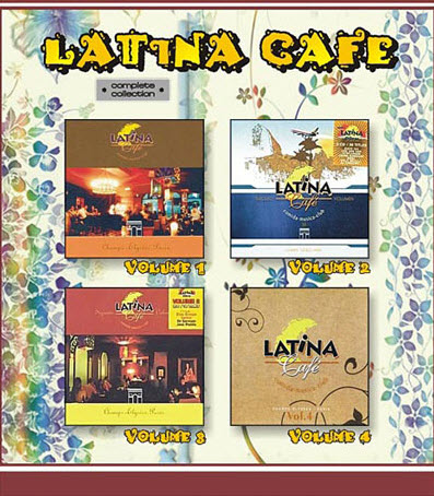 VA - Latina Cafe (Complete vol.1-4 Collection)