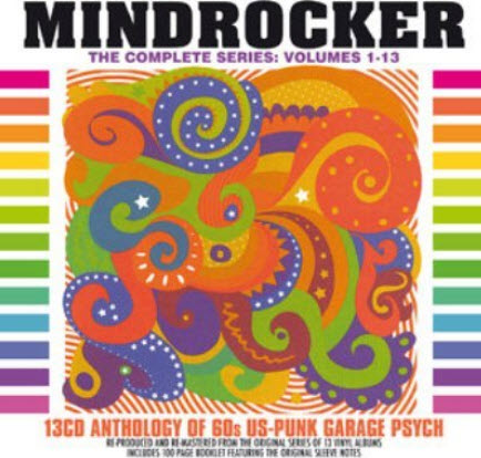 VA - Mindrocker: 13 CDs Anthology Of 60s US-Punk Garage Psych (2008)