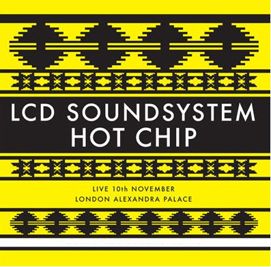 LCD Soundsystem & Hot Chip - Live 10th November London Alexandra Palace (2010)