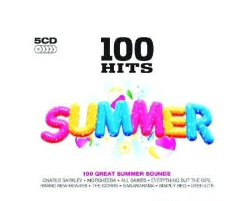 100 Hits Summer (Box Set 5 CDs)
