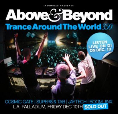 Above & Beyond - Trance Around The World 350 5CD (2010-12-10)