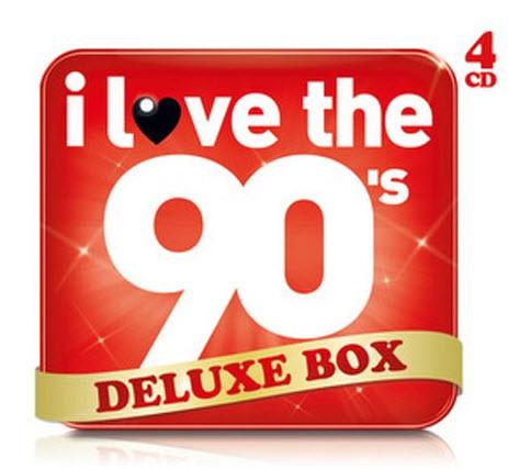 VA - I Love The 90s (Deluxe Box) 4CD 2010-HB