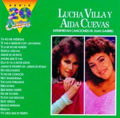 Lucha Villa y Aida Cuevas - Interpretan Canciones De Juan Gabriel (1998)