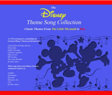 VA - The Disney Theme Song Collection (2009)
