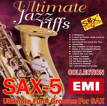 VA - Ultimate Jazz Riffs Sax-5 Collections - Ultimate Funk Grooves For Sax (2010)