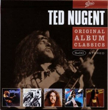Ted Nugent - Original Album Classics (2008) 5CD Box Set (320)