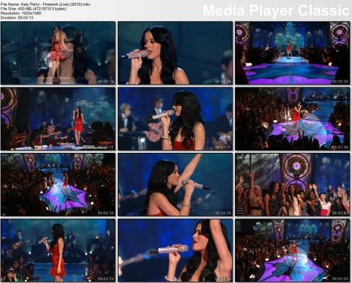 Katy Perry - Firework (Live) (2010)