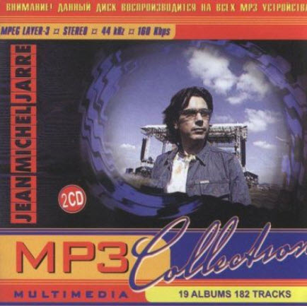 Jean Michel Jarre - Mp3 Collection (19 CD) (2008)
