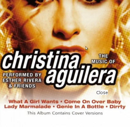 Christina Aguilera � The Music Of (Cover Versions) (2004)