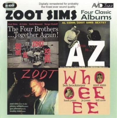 Zoot Sims - Four Classic Albums (2 CD Set) 2009