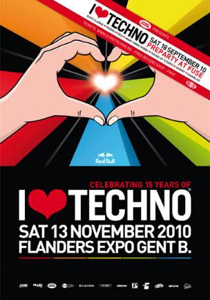 VA - I Love Techno 2010 (Ghent, Belgium)[13-11-2010]