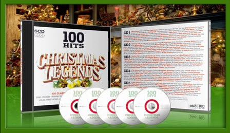 Christmas Legends - 100 Hits [EAC - FLAC]