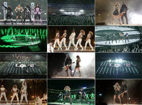 Black Eyed Peas - Medley Slash & Usher (Live @ Super Bowl XLV Halftime Show) (2011)