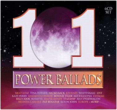 VA - 101 Power Ballads (AU Edition) 6CD (2011)