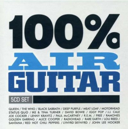 VA - 100% Air Guitar (5CDs) (2008)
