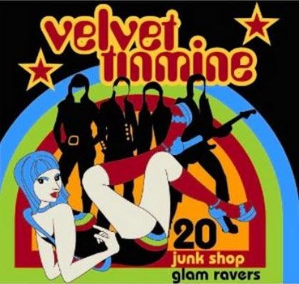 VA - Velvet Tinmine. 20 Junk Shop Glam Ravers (2003)