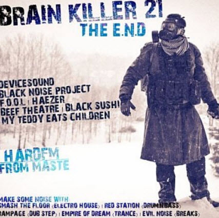VA - Brain Killer 21 The E.N.D (2010)