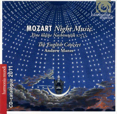 Mozart - Night Music: The English Concert by Andrew Manze (2003)[Lossless]
