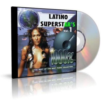 VA - 1000% Latino Superstar's - 2002