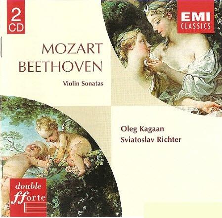 Mozart & Beethoven - Violin Sonatas (Oleg Kagan, Sviatoslav Richter) (2001)
