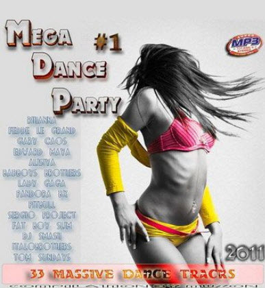 VA - Mega Dance Party 1 (2011)
